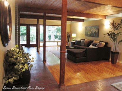 Staging a Lakewood Midcentury Modern Style Home