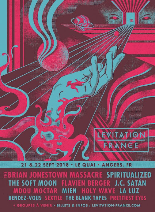LEVITATION FRANCE # September, 21-22 # Angers - France  Lineup / Tickets / Info: http://amf.cool/festival...