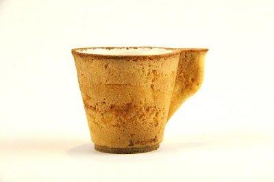 съедобная чашка