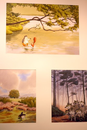 Illustrators exhibition