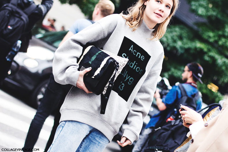 Milan_Fashion_Week_Spring_Summer_15-MFW-Street_Style-Acne_Studios_Sweatshirt-1