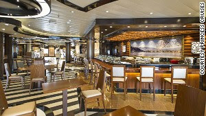 Enroute to Japan, it\'s only fitting Diamond Princess offers a sushi bar.
