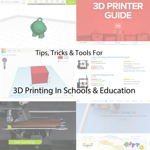 3D Printing For Schools And Education - 3D Printing In The Classroom