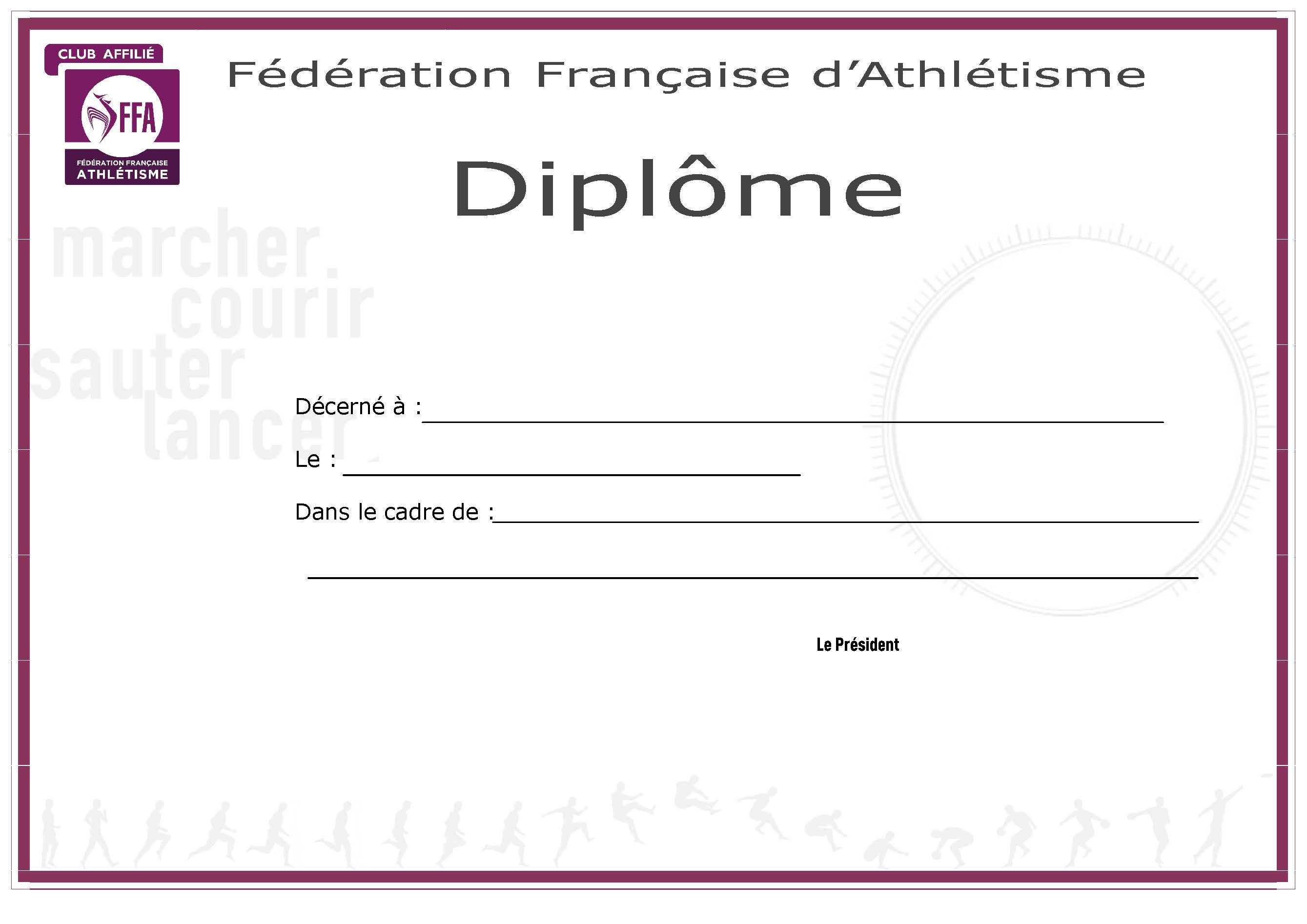 Telecharger Cadre Pour Diplome Vierge Gratuit