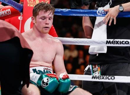 Saúl 'Canelo' Álvarez durante su última pelea en Las Vegas. Foto: AP
