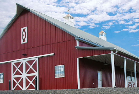 Project Summary: A Traditional Ag Barn in Crawley, WV - Conestoga Buildings