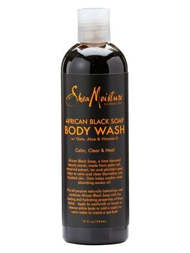 Shea Moisture African Black Soap Body Wash