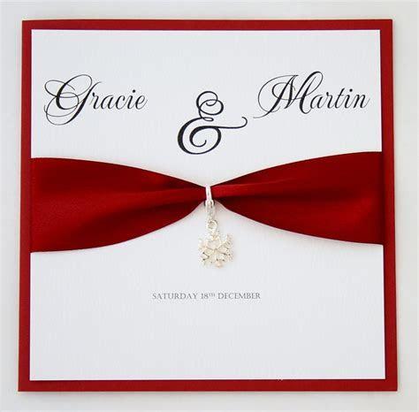 Snowflake Invitations   Josephine   Handmade By me