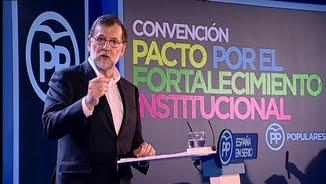 Mariano Rajoy clausura a Barcelona la convenció del PP sobre l'enfortiment institucional