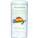 Shweaty All Natural Deodorant - Coconut Lime, Size: 3