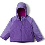 Columbia Girls' Toddler Alpine Action II Jacket - 2T - Grape Gum/Paisley Purple