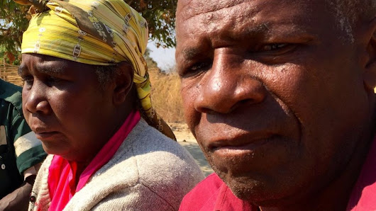'Rivers of acid' in Zambian villages - BBC News