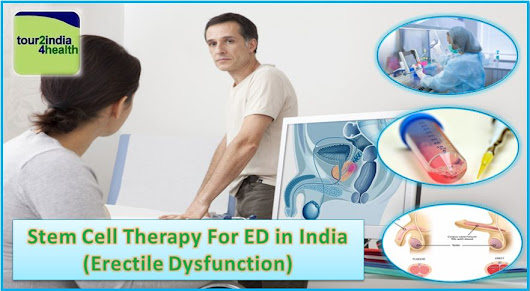 Affordable Curative Stem Cell Therapy for Erectile Dysfunction in India