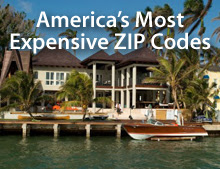 Expensive ZIP codes