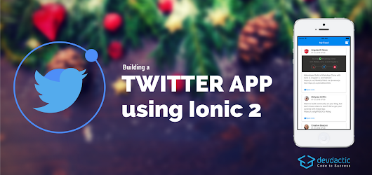Building a Twitter App with Ionic 2