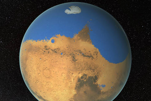 Was the Red Planet Once Ocean Blue?