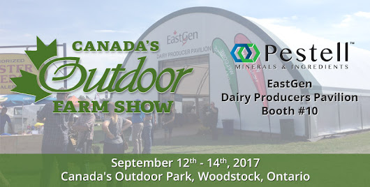 Canada's Outdoor Farm Show 2017 | Pestell Minerals & Ingredients