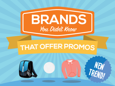 15 Brands You Didn't Know You Could Get as Promos