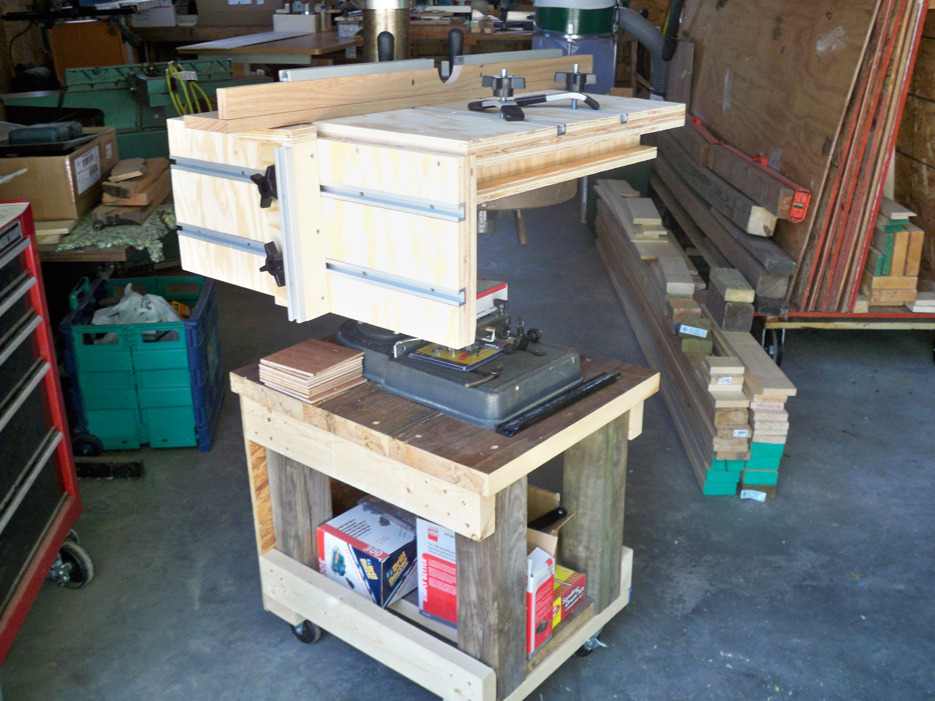 Benchtop Drill Press stands The SawdustZone