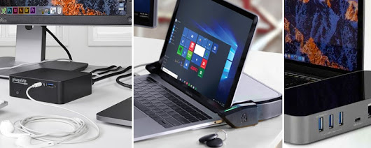 Five Flexible USB-C Laptop Docks Easily Expand Connectivity