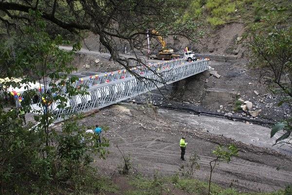 Comunidad de Chiscas y Espino beneficiada con inauguración del puente sobre el río Chiscano