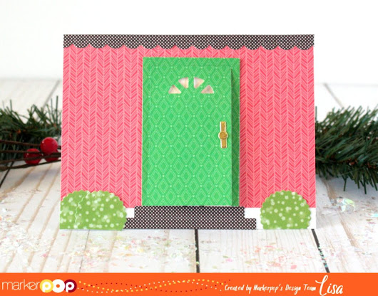 Open The Front Door With Lawn Fawn Cuteness! - MarkerPOP Blog