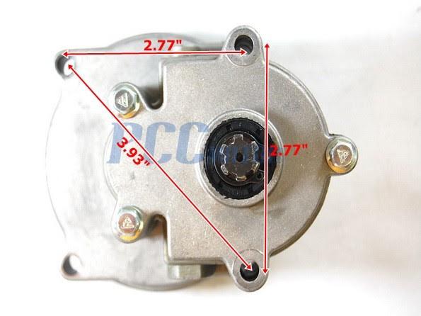 Gear Reduction 43cc 47cc 49cc Transmission 2 Stroke Pocket Mini Bike Tm02