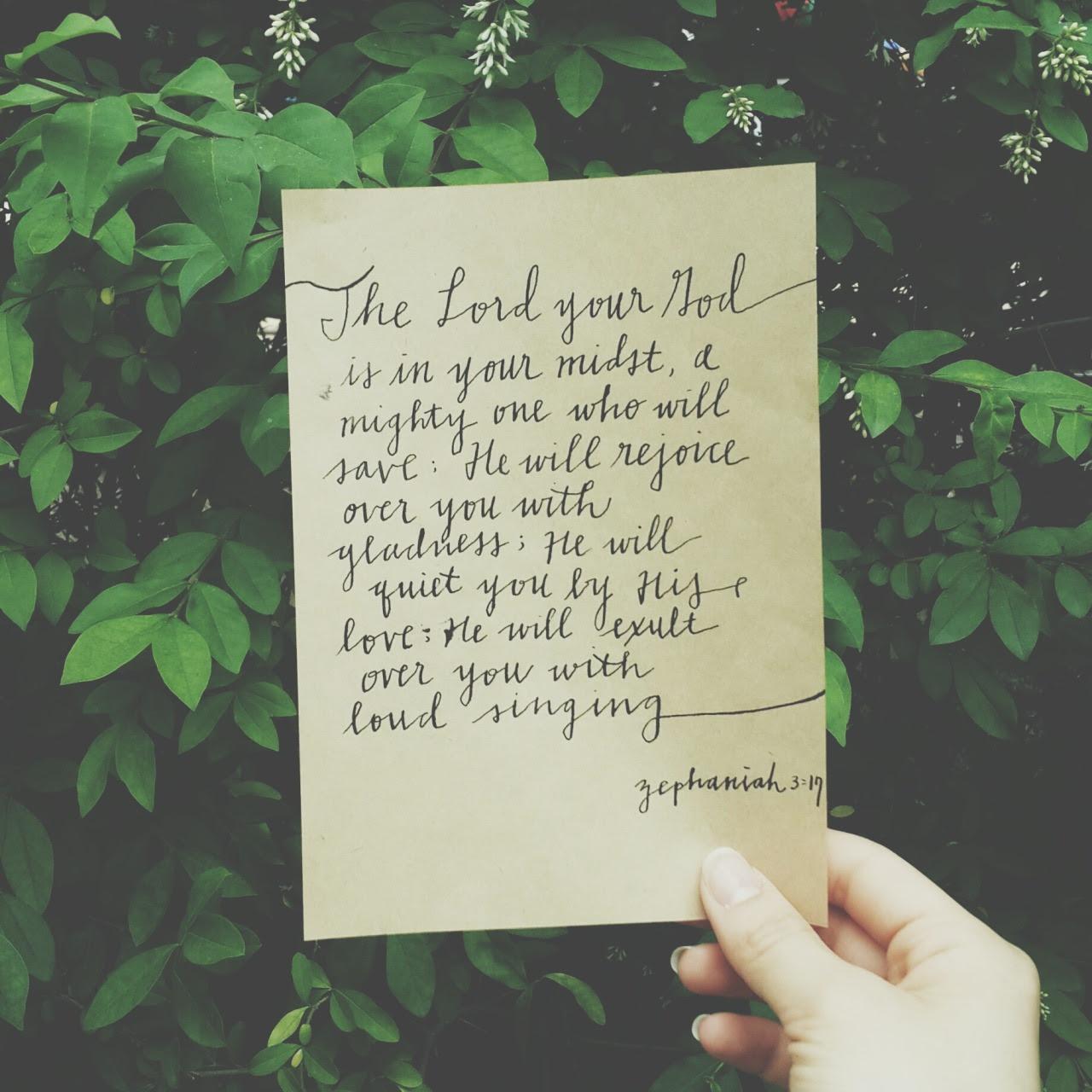 God in my midst.  Instagram: pg7inc
