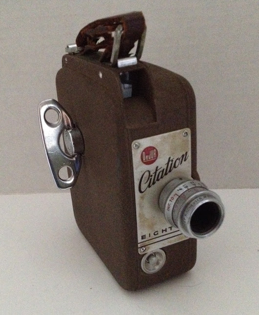 Vintage DeJur Citation 8mm Camera Made in USA... | Vintage Around The Clock