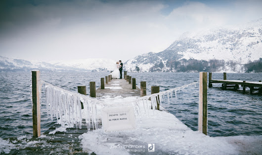 The Beast from the East Wedding - Photo of the month March 2018 - Jason Chambers Photography