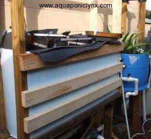 Lumber liner shelf tank