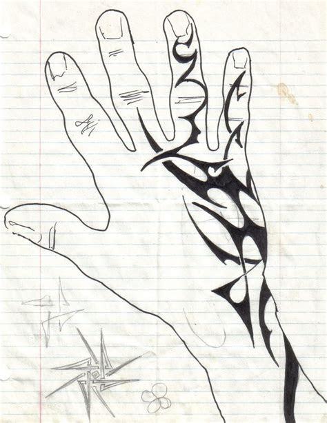 hand tattoo halfmast deviantart hand tattoos