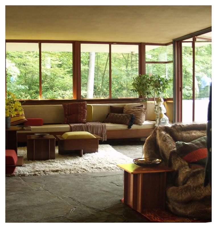 Casa en la Cascada - Frank Lloyd Wright, Arquitectura, diseño, casas