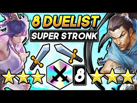 *8 DUELIST!* ⭐⭐⭐ STRONK! - TFT Teamfight Tactics 10.24 BEST RANKED Set 4 Comps Guide Fates Strategy
