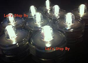 12 LED Warm White Submersible Waterproof Wedding Floral