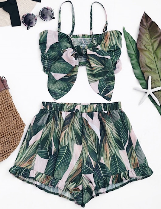 Two Piece Cuties from Zaful - Lesley Kim- A Lifestyle Blog by Lesley Kim
