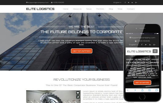 Elite Logistics a Corporate Category Responsive Web Template - w3layouts.com