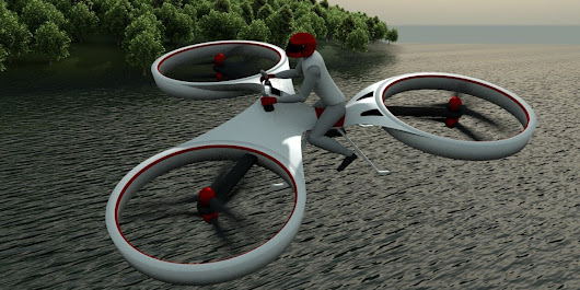 This Hoverbike Should Replace All Cars Immediately