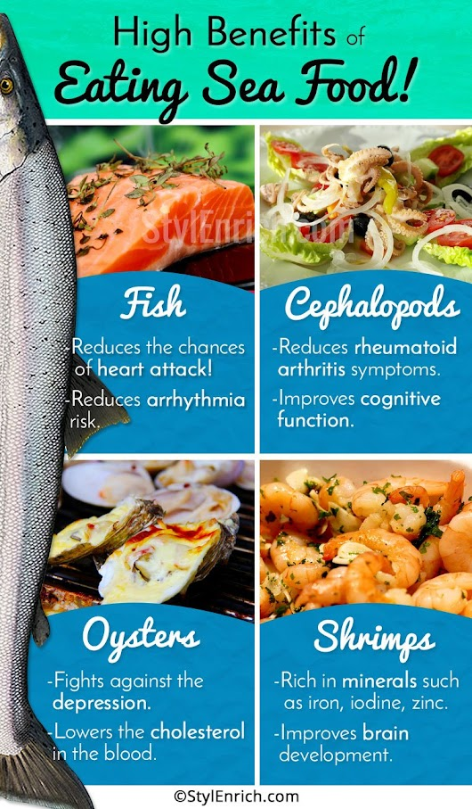 Seafood Benefits – Explore The High Benefits Of Eating Sea Food