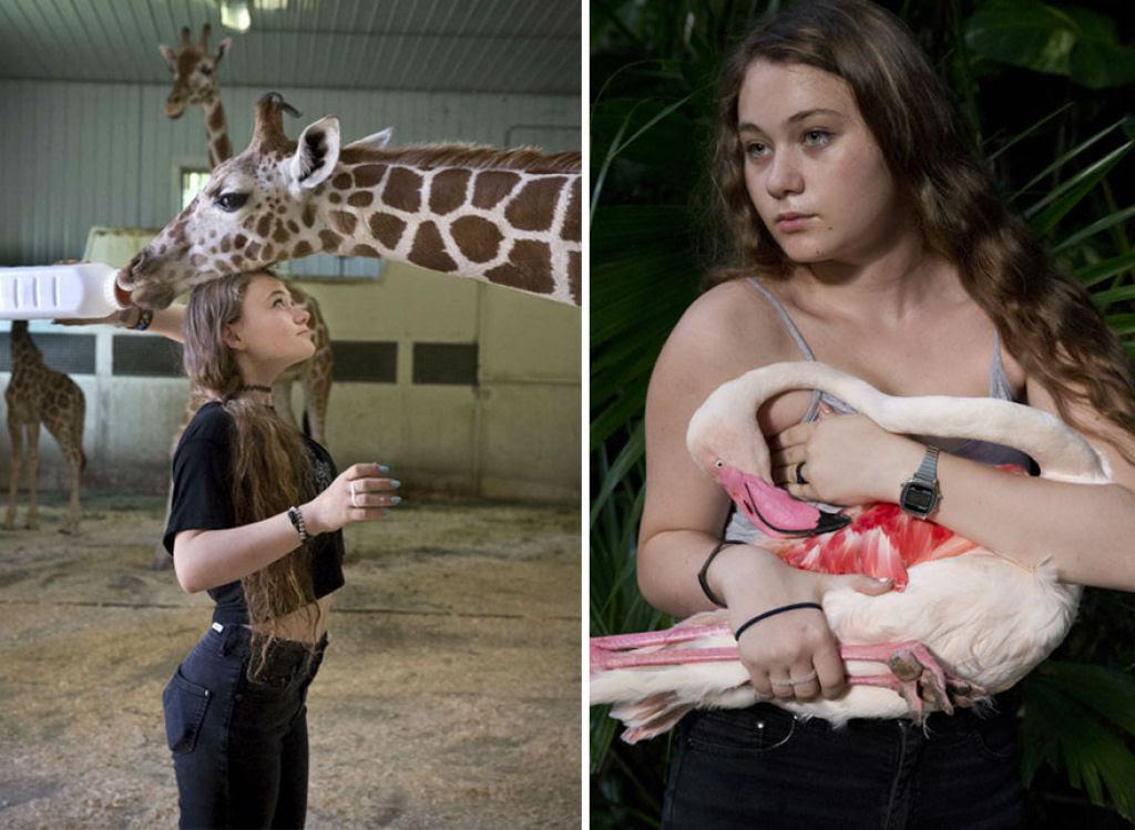 O Mundo de Amelia - A menina que cresceu com os animais e os considera seus irmãos 25