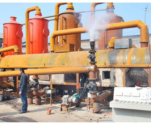 Household Waste Carbonization Plant
