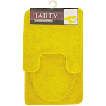 Kashi Hailey 3 Piece Bath Rug Set, Yellow