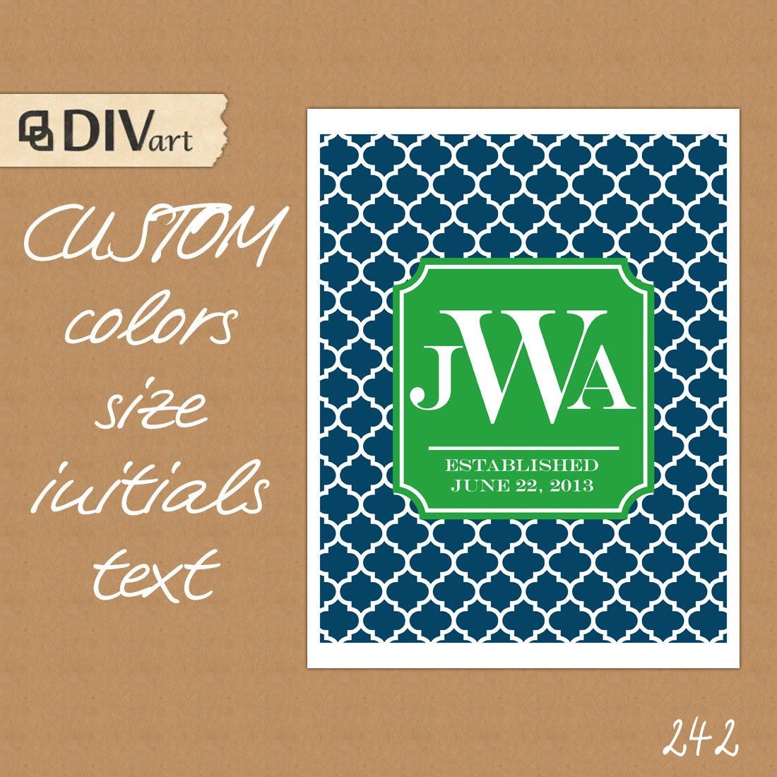 PRINTABLE 8x10 Wall Art Home Decor Digital Print Wall by DIVart