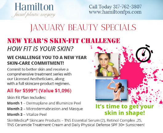 MedSpa & Plastic Surgery Specials | Hamilton Facial Plastic Surgery