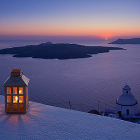 Warm evening on Santorini by Mike Reyfman (mreyfman) on 500px.com