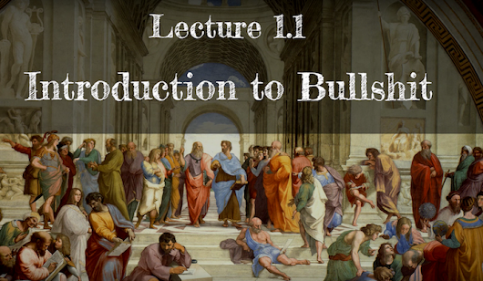 """Calling Bullshit"": Watch Lectures for the College Course Designed to Combat the BS in our Information Age"