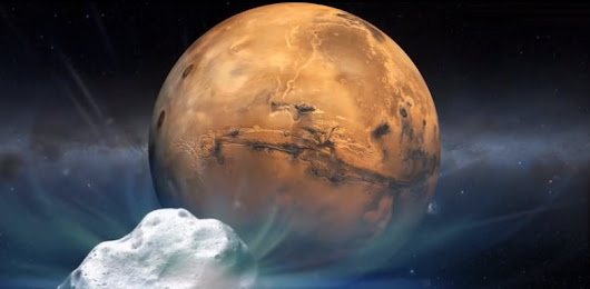 The Best Seat in the House for Sunday's Comet Flyby Is Mars - Scientific American