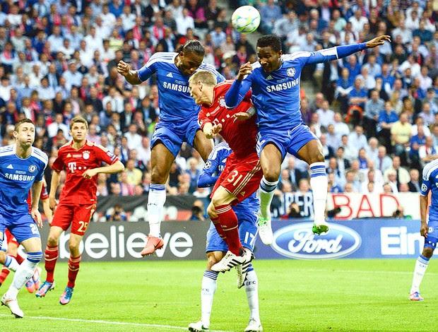 Bastian Schweinsteiger na final da Liga dos Campeões entre Bayern e Chelsea (Foto: Reuters)