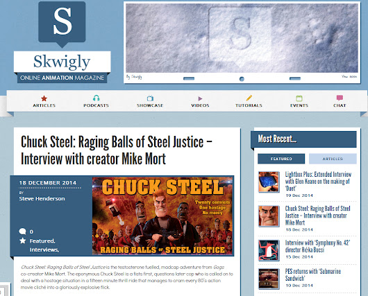 Skwigly: Is animation your thing? Read and perhaps write about it for this online magazine.