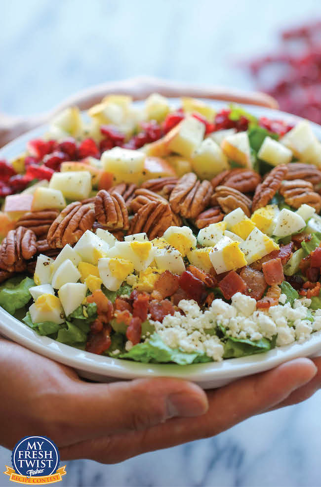 Harvest Cobb Salad by Damn Delicious